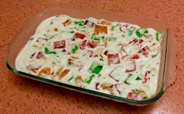″Битое стекло″ — торт без выпечки, который идеален для жаркого лета. Яркий и вкусный!